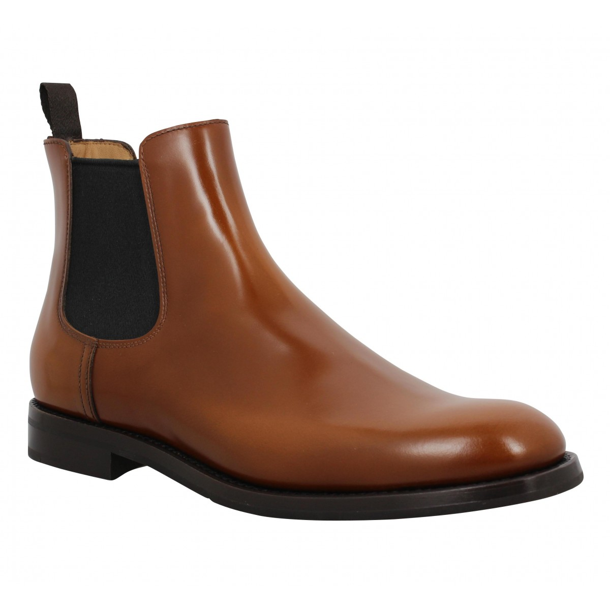 Bottines CHURCH'S Monmouth cuir Femme Cognac