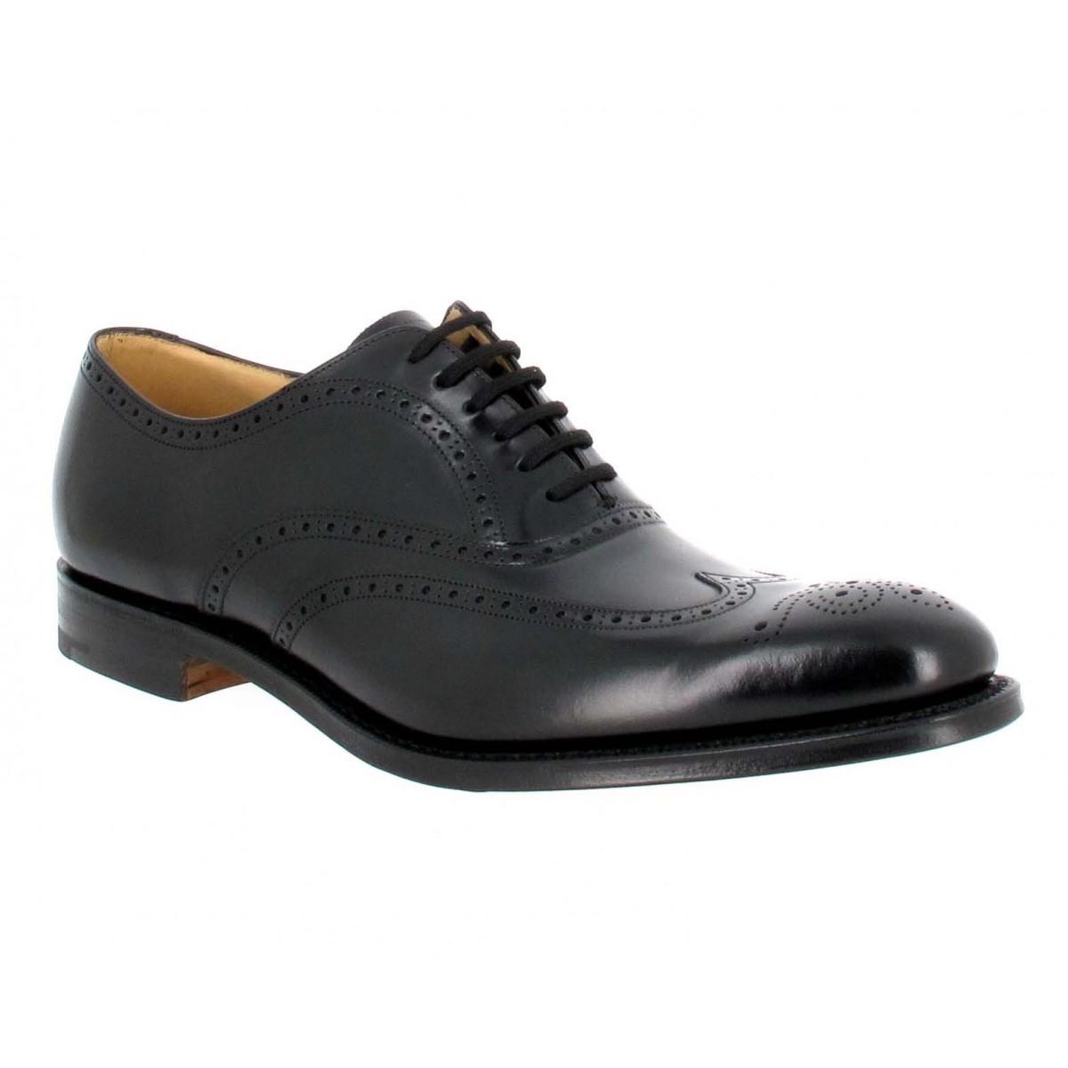 Chaussures à lacets CHURCH'S New York cuir Homme Noir