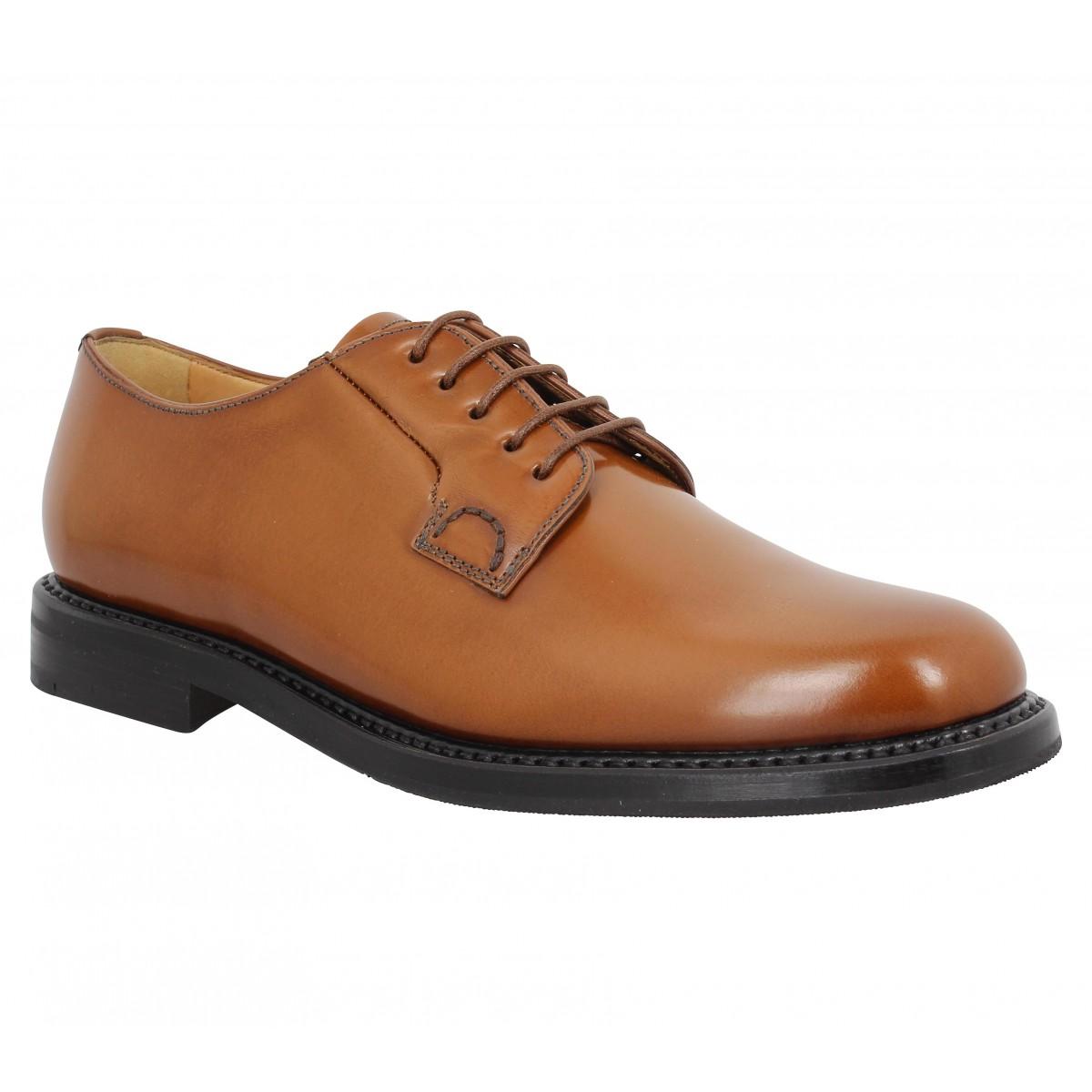 Chaussures à lacets CHURCH'S Shannon cuir Cognac