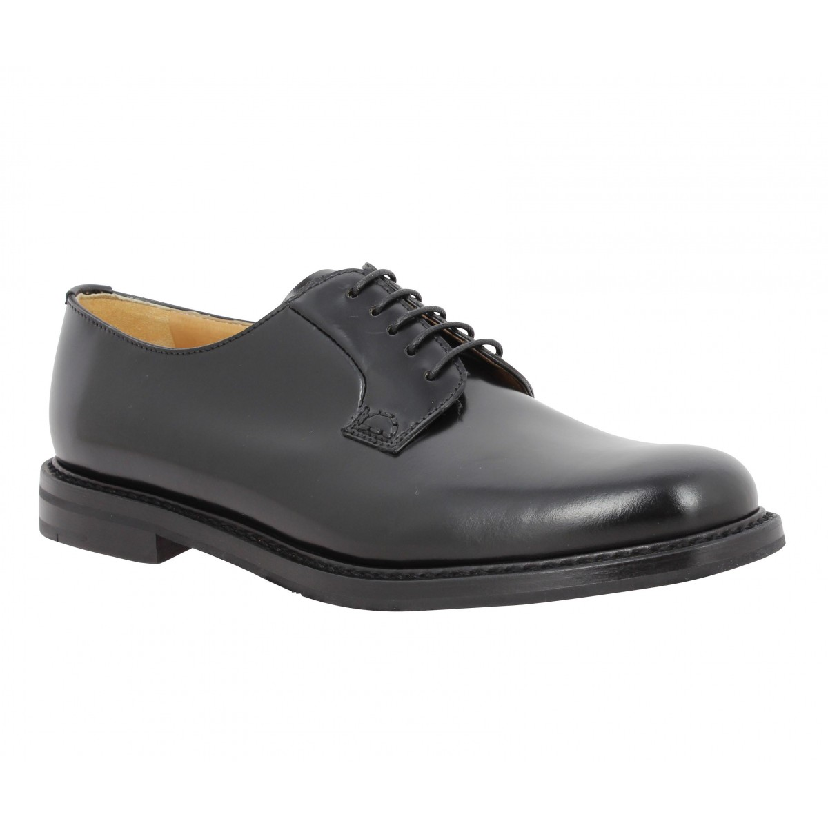 Chaussures à lacets CHURCH'S Shannon cuir Femme Noir