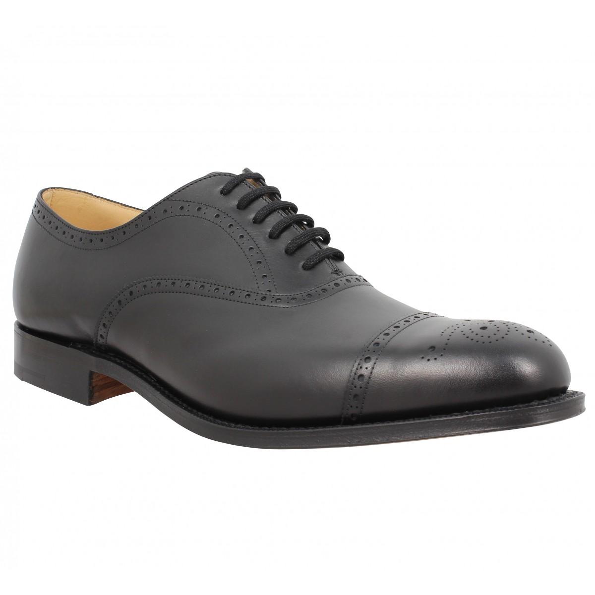 Chaussures à lacets CHURCH'S Toronto cuir Noir