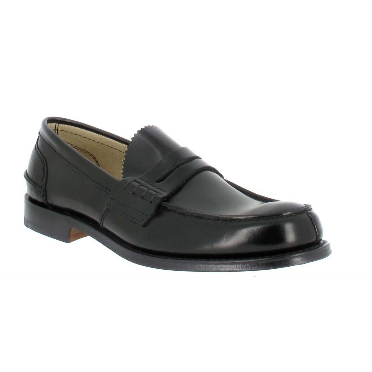 Mocassins CHURCH'S Tunbridge cuir Homme Noir
