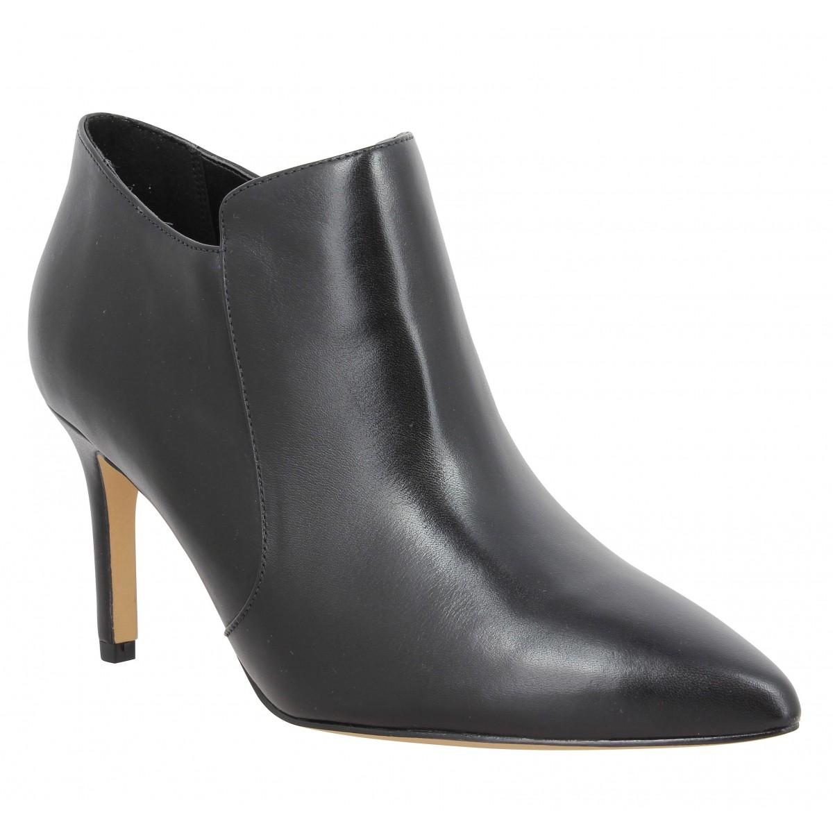 Bottines CLARKS Dinah Spice cuir Femme Noir