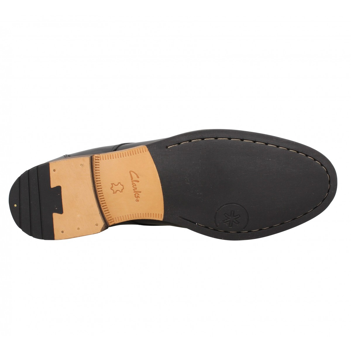 Clarks Homme A Lacets  Exton Walk Cuir ...