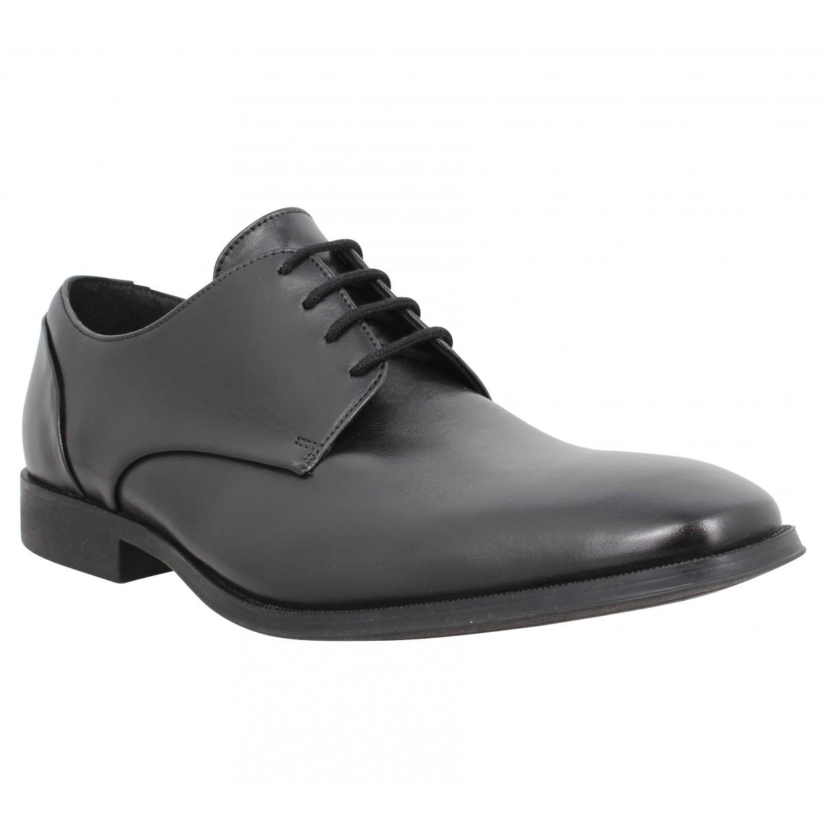 Chaussures à lacets CLARKS Gilman Plain cuir Homme Noir