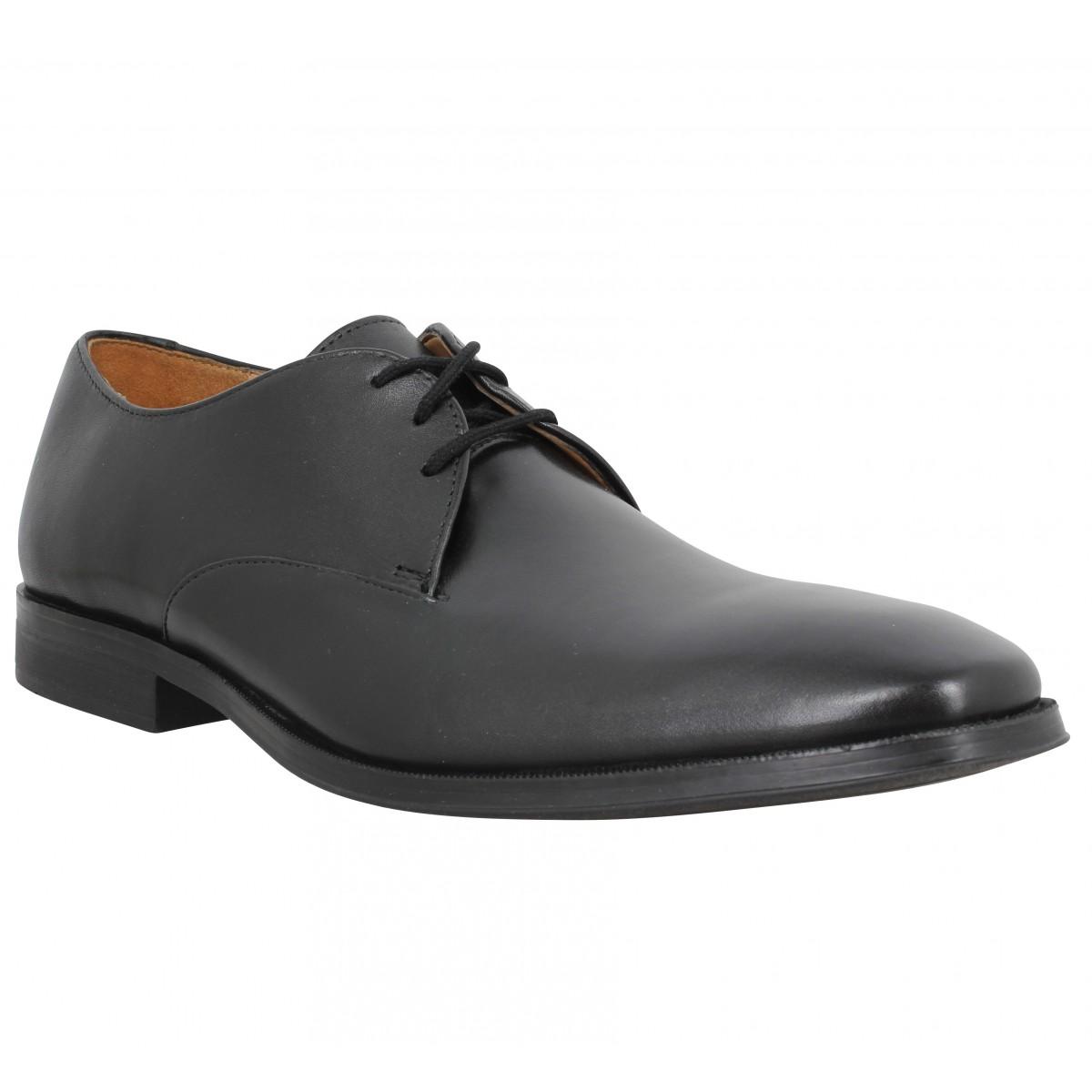 Chaussures à lacets CLARKS Gilman Walk cuir Homme Noir