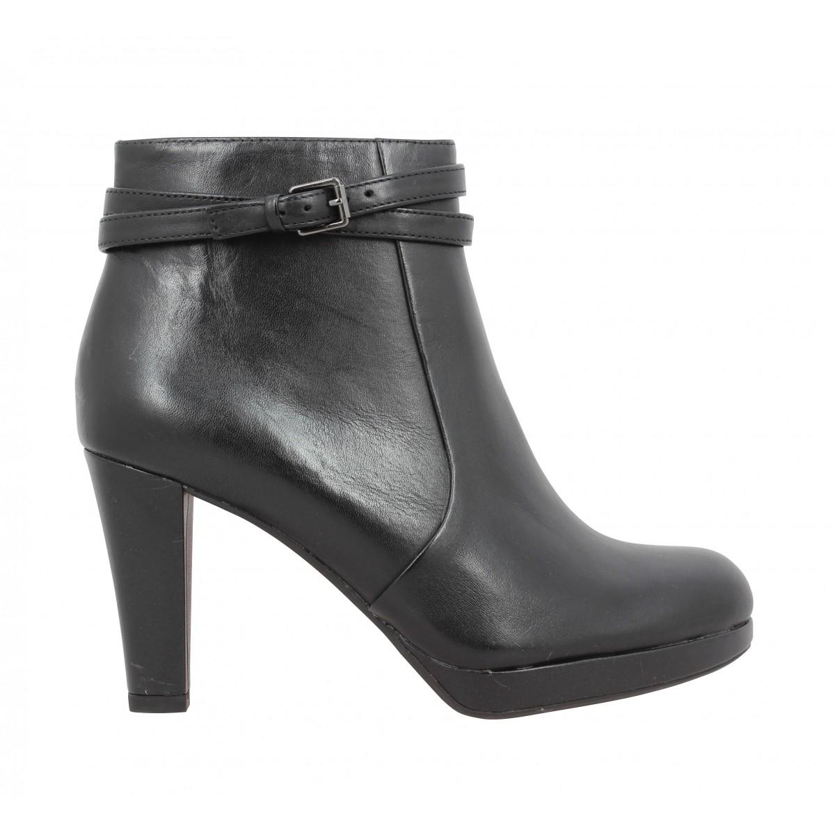 good selling best prices popular brand CLARKS Kendra Shell cuir Femme Noir