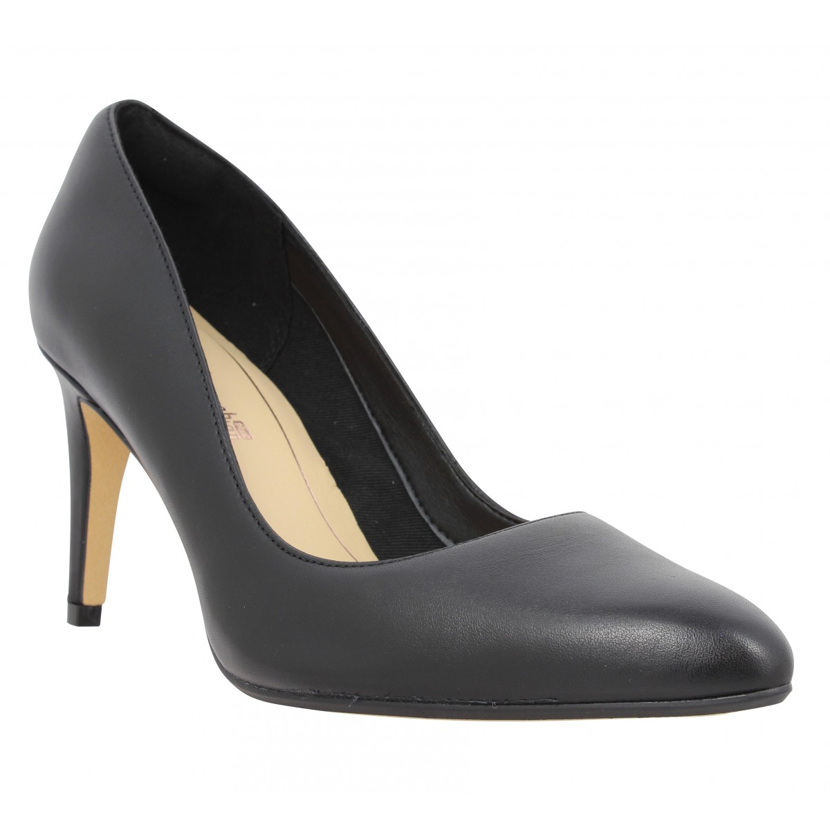 Escarpins CLARKS Laina Rae cuir Femme Noir