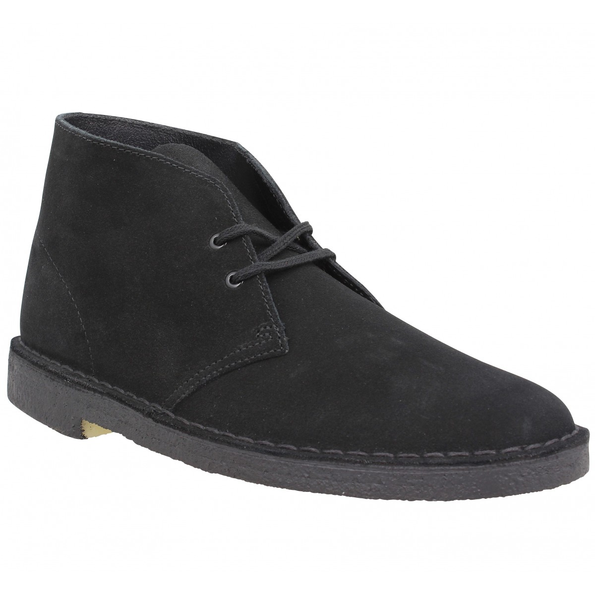 Bottines CLARKS ORIGINALS Desert Boot velours Homme Black
