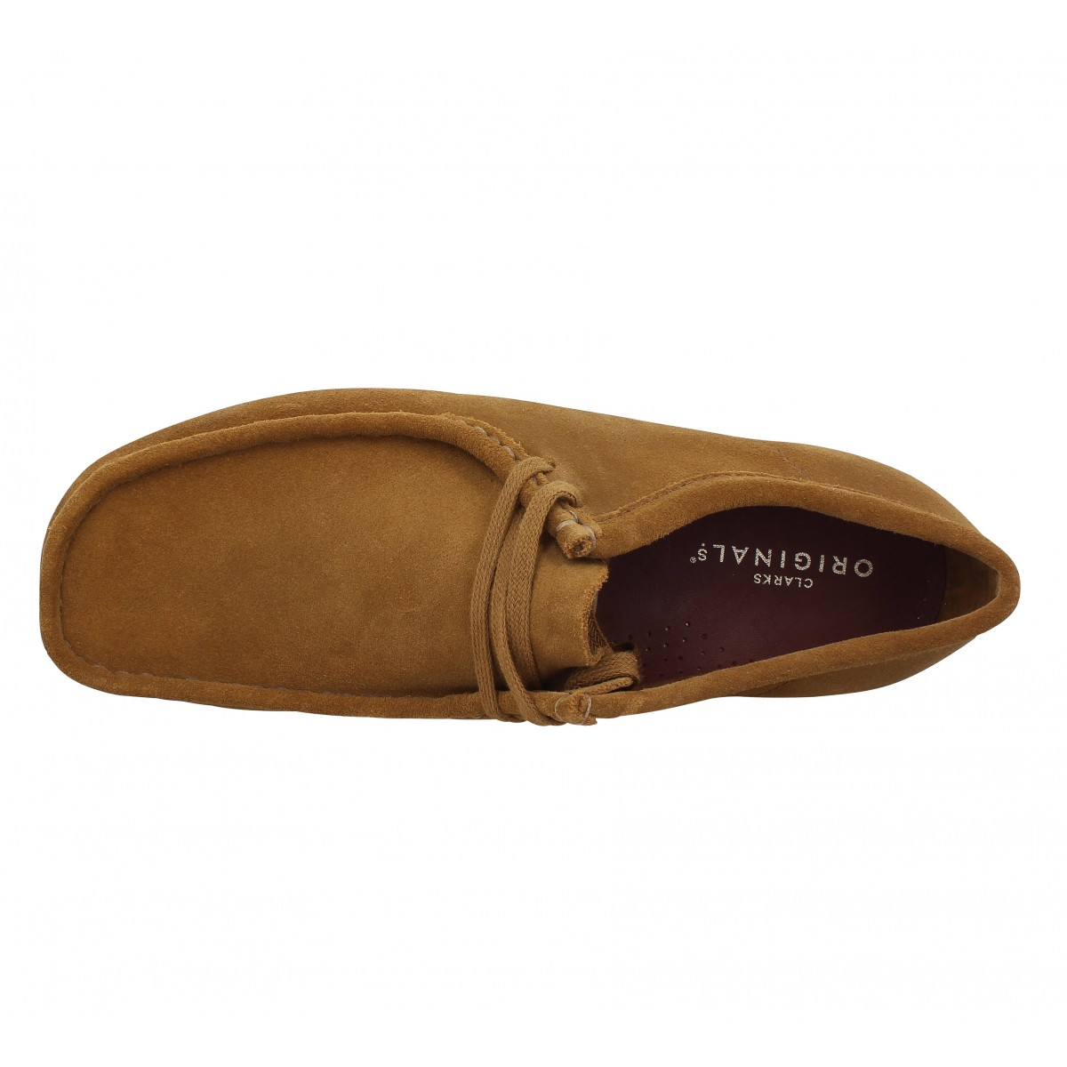 2ab8a3ba65 Clarks originals wallabee velours homme cola homme | Fanny chaussures