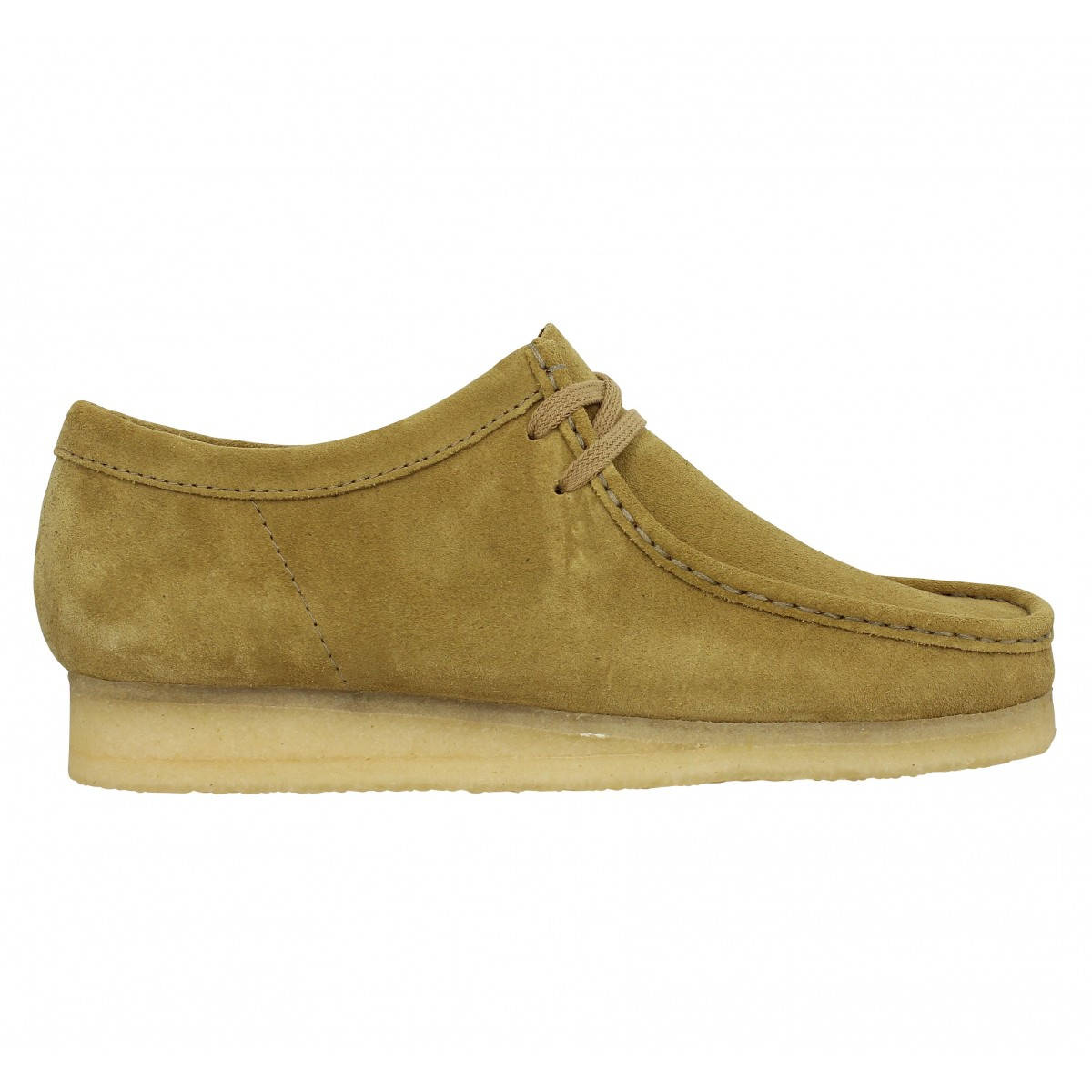 75f44c968c14e5 Clarks originals wallabee velours homme taupe homme | Fanny chaussures