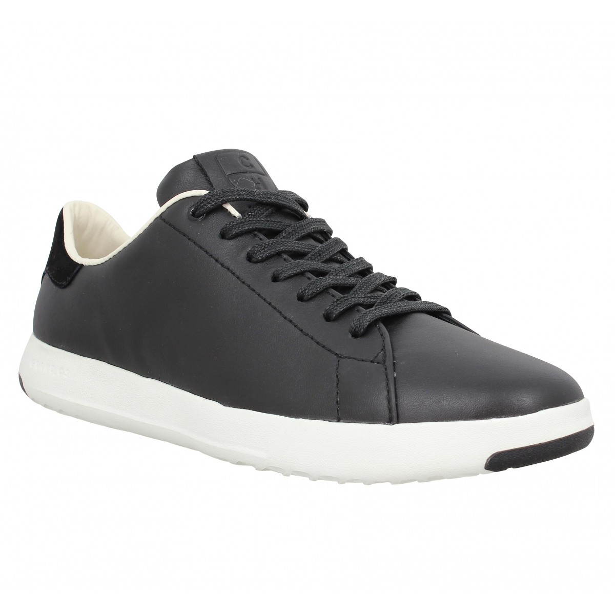 Baskets COLE HAAN GP Tennis cuir Homme Noir