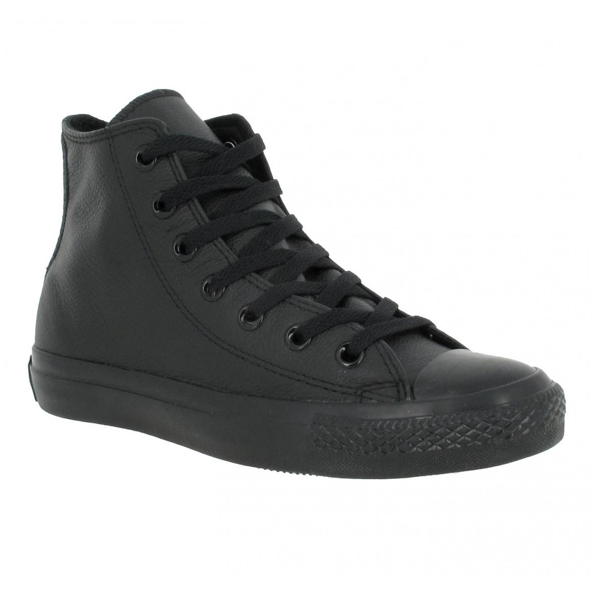 Baskets CONVERSE Chuck Taylor All Star Hi cuir Femme Black