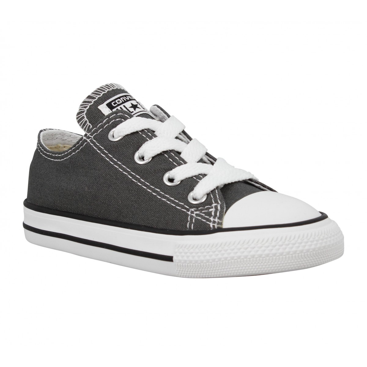 Baskets CONVERSE Chuck Taylor All Star toile Enfant Anthracite