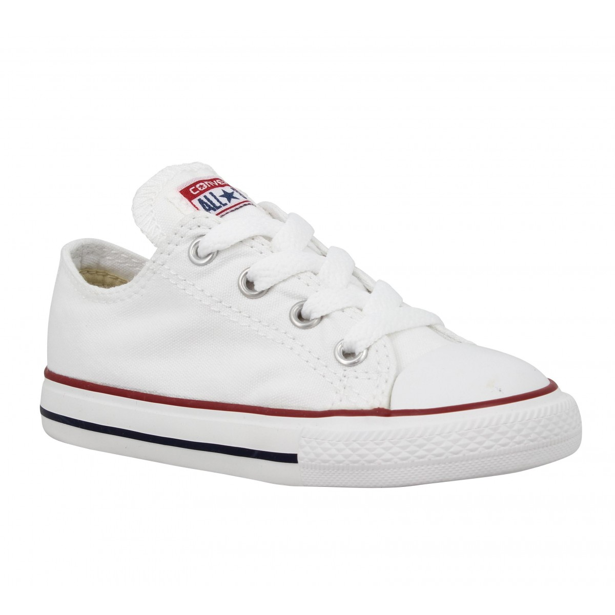 CONVERSE Chuck Taylor All Star toile Enfant-26-Blanc