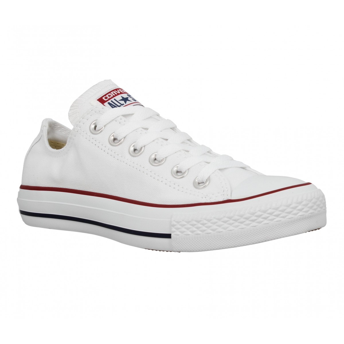 Baskets CONVERSE Chuck Taylor All Star toile Femme Blanc
