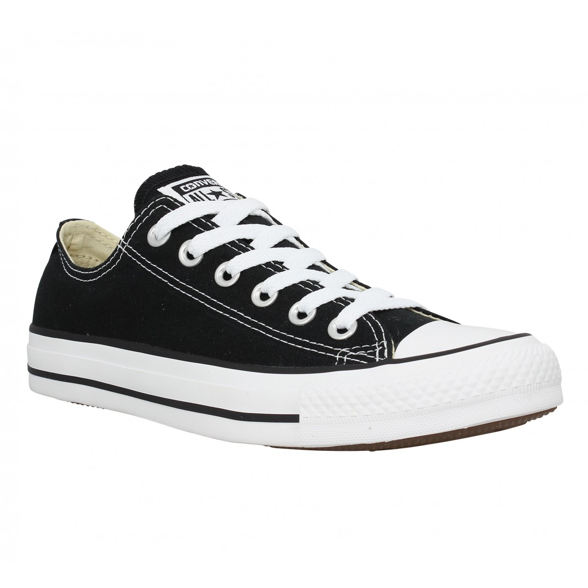 28538b8fea51f Baskets CONVERSE Chuck Taylor All Star toile Homme Noir