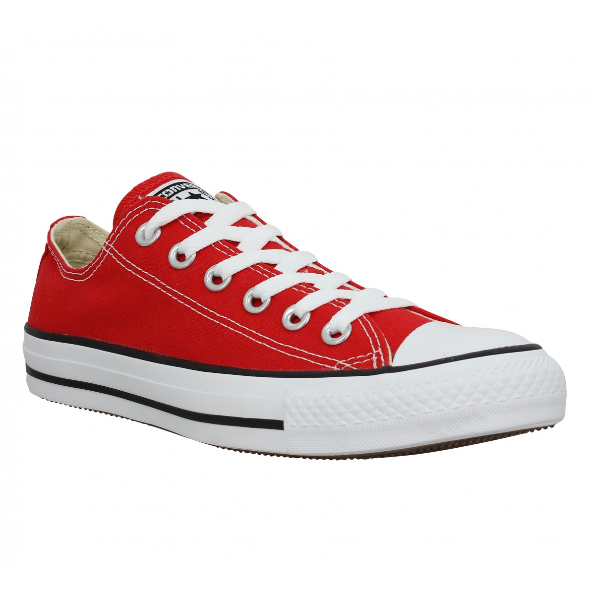 Baskets CONVERSE Chuck Taylor All Star toile Homme Rouge