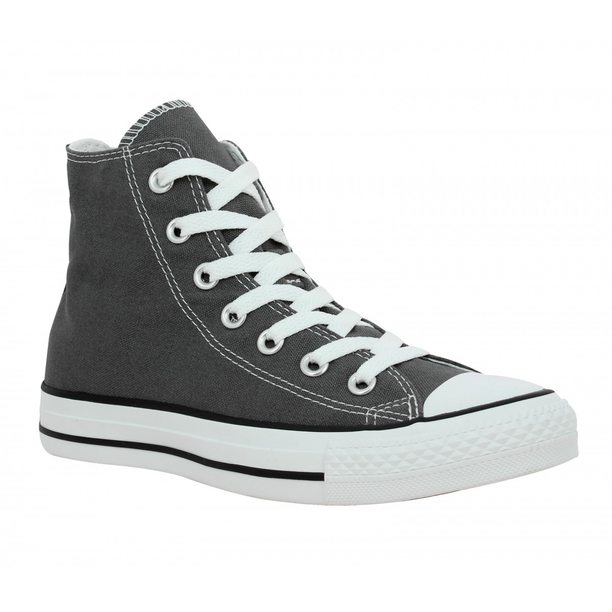 Baskets CONVERSE Chuck Taylor All Star Hi toile Homme Anthracite