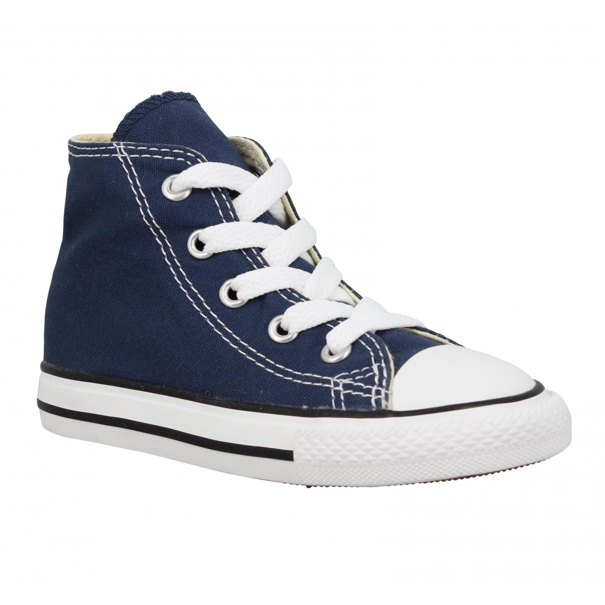 Baskets CONVERSE Chuck Taylor All Star Hi toile Enfant Marine