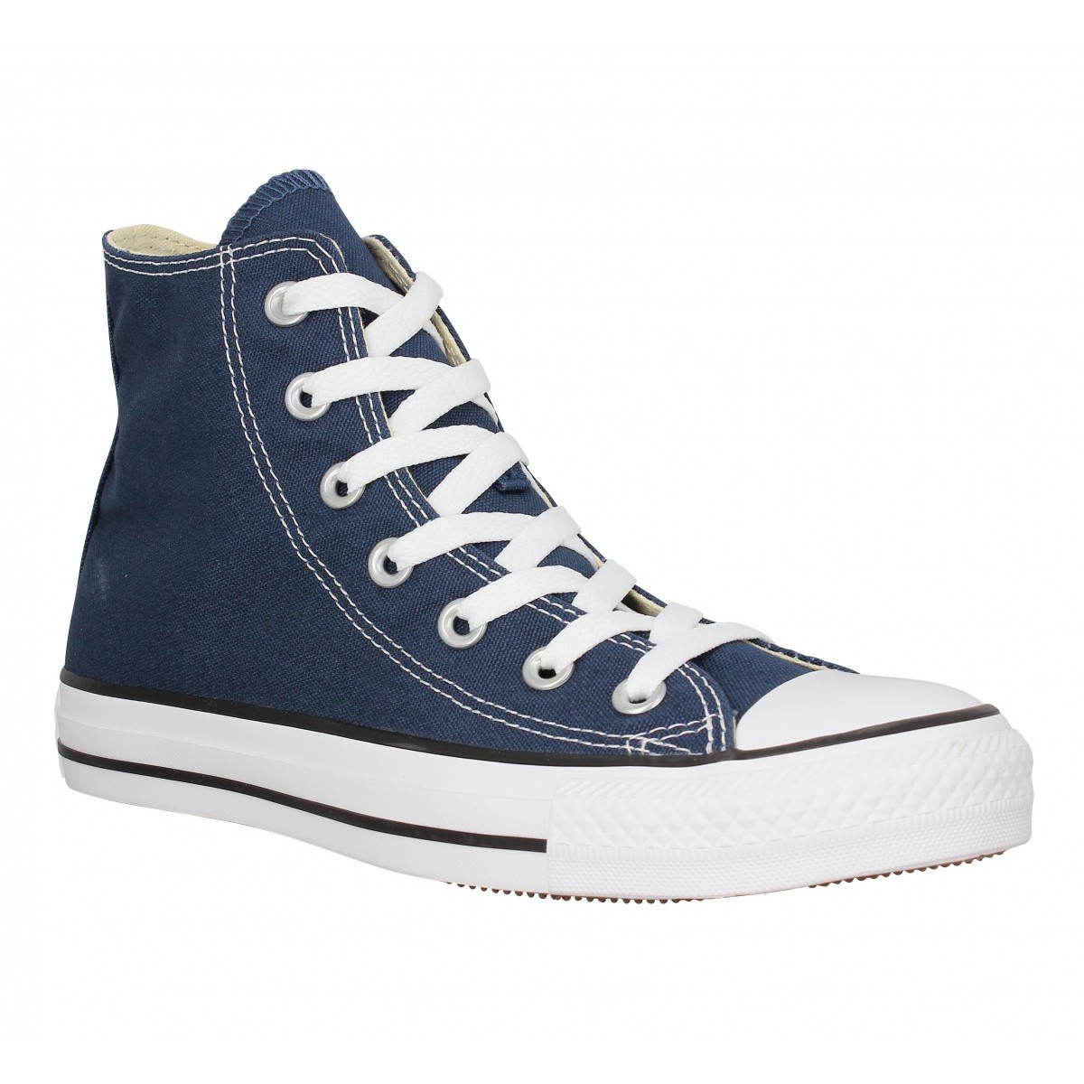 Baskets CONVERSE Chuck Taylor All Star Hi toile Femme Marine