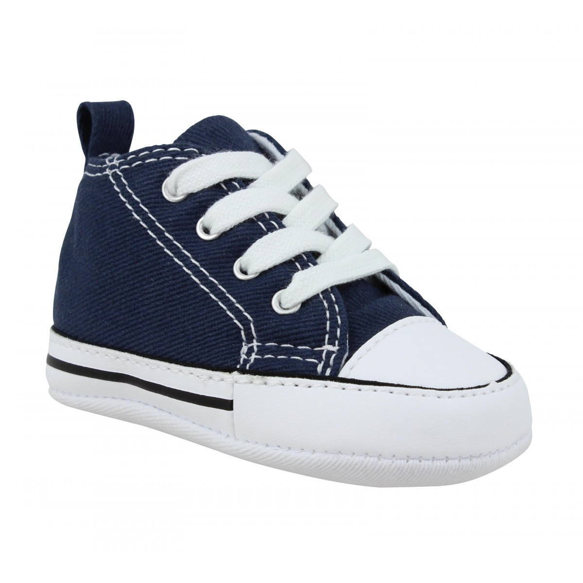 Baskets CONVERSE First Star toile Enfant Marine