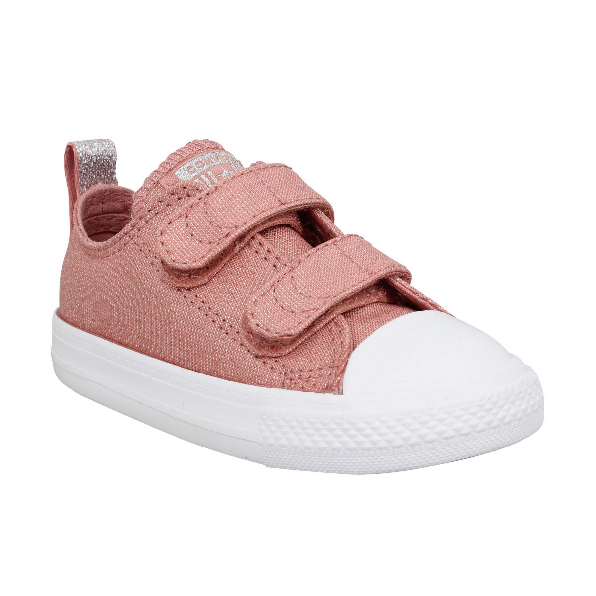 Baskets CONVERSE Chuck Taylor All Star 2V toile Enfant Rose
