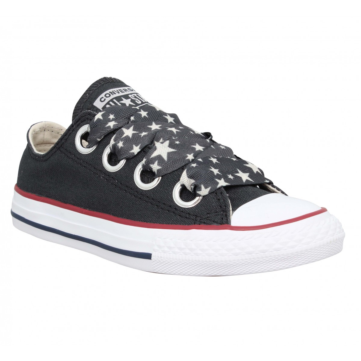Baskets CONVERSE Chuck Taylor All Star Big Eyelets Enfant Noir