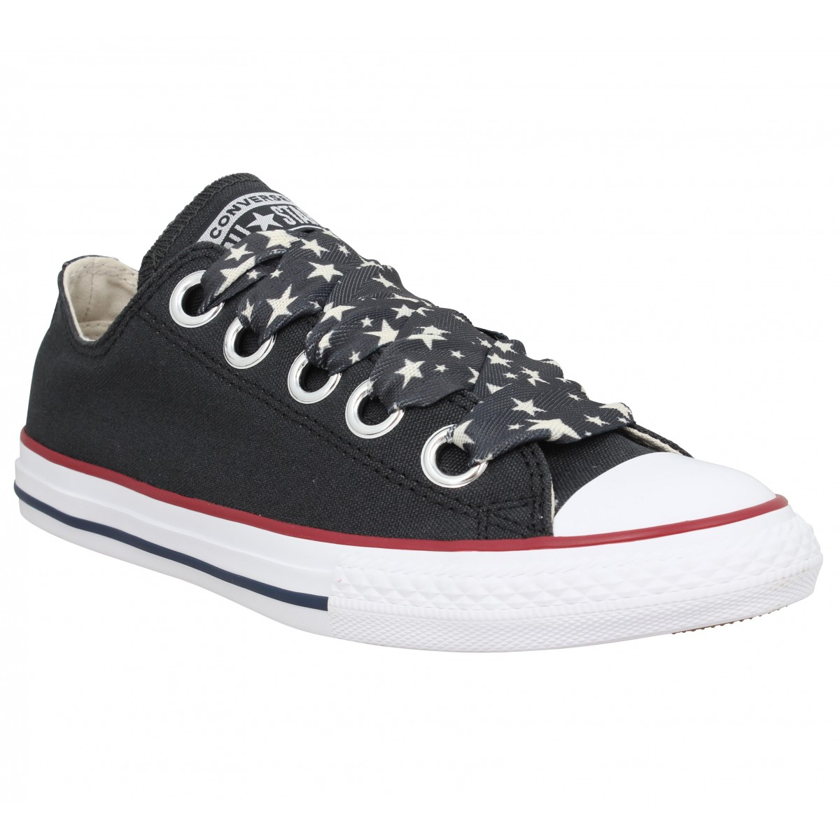 Baskets CONVERSE Chuck Taylor All Star Big Eyelets Femme Noir