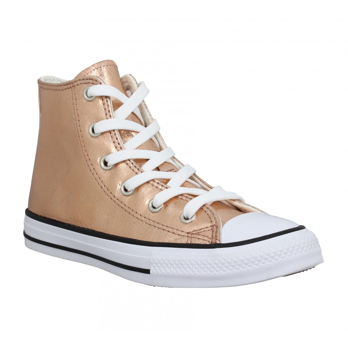 Baskets CONVERSE Chuck Taylor All Star Hi simili Enfant Rose Gold