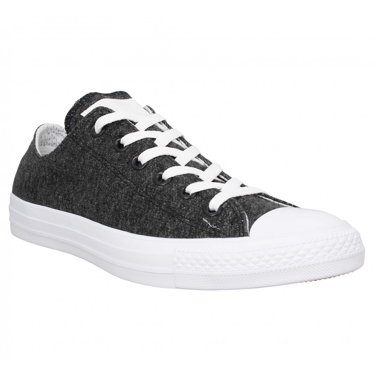 Baskets CONVERSE Chuck Taylor All Star jersey Homme Noir