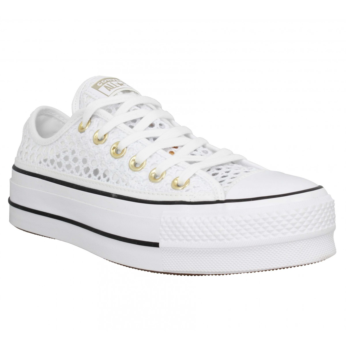 Baskets CONVERSE Chuck Taylor All Star Lift toile Femme Resille