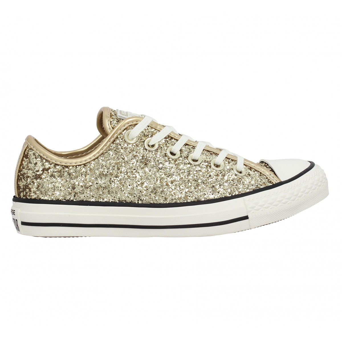 CONVERSE Chuck Taylor All Star paillettes Femme Gold