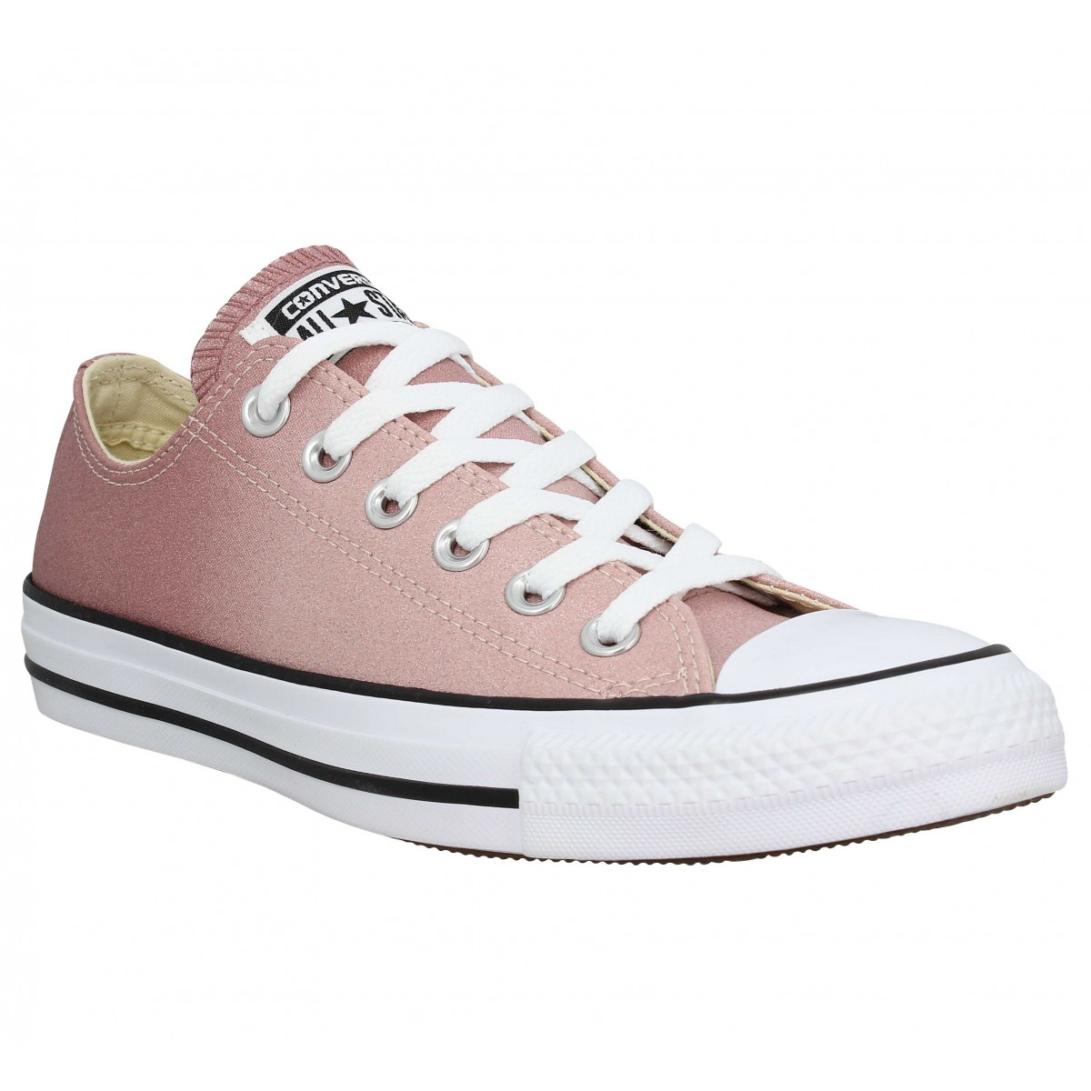 4fb1c76295a46 Baskets CONVERSE Chuck Taylor All Star paillettes Femme Saddle