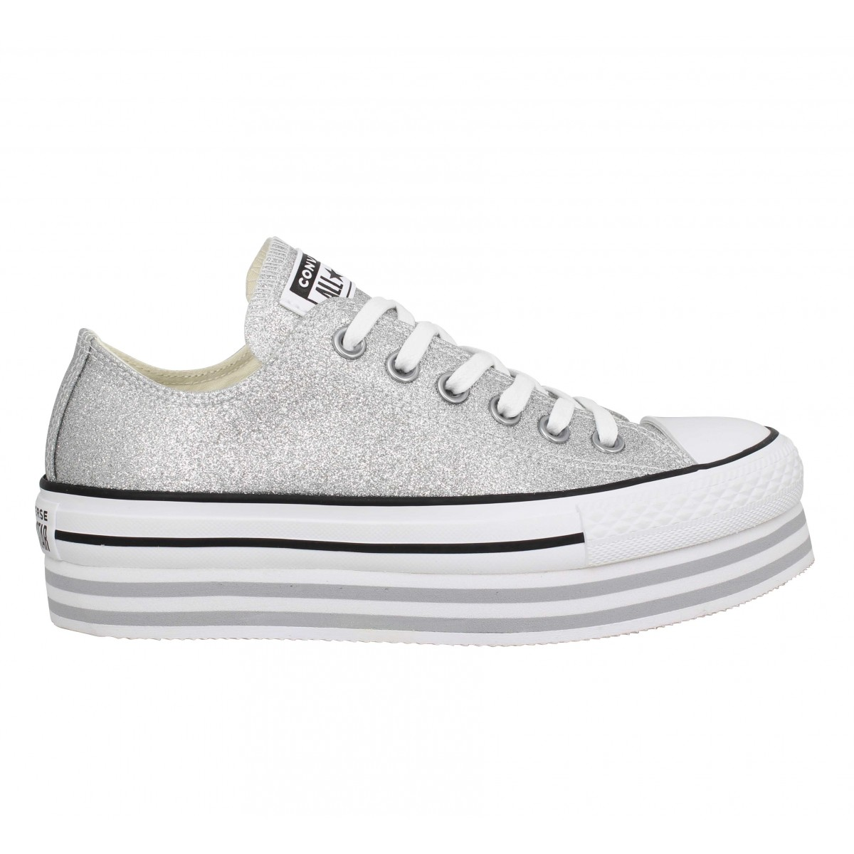 basket converse femme compensee
