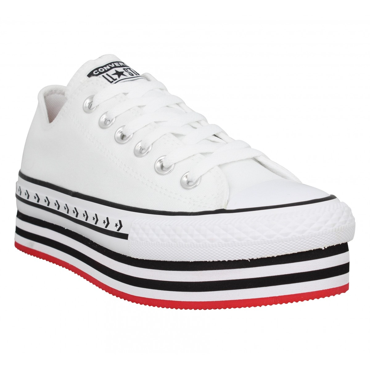 chaussures toile femme converse