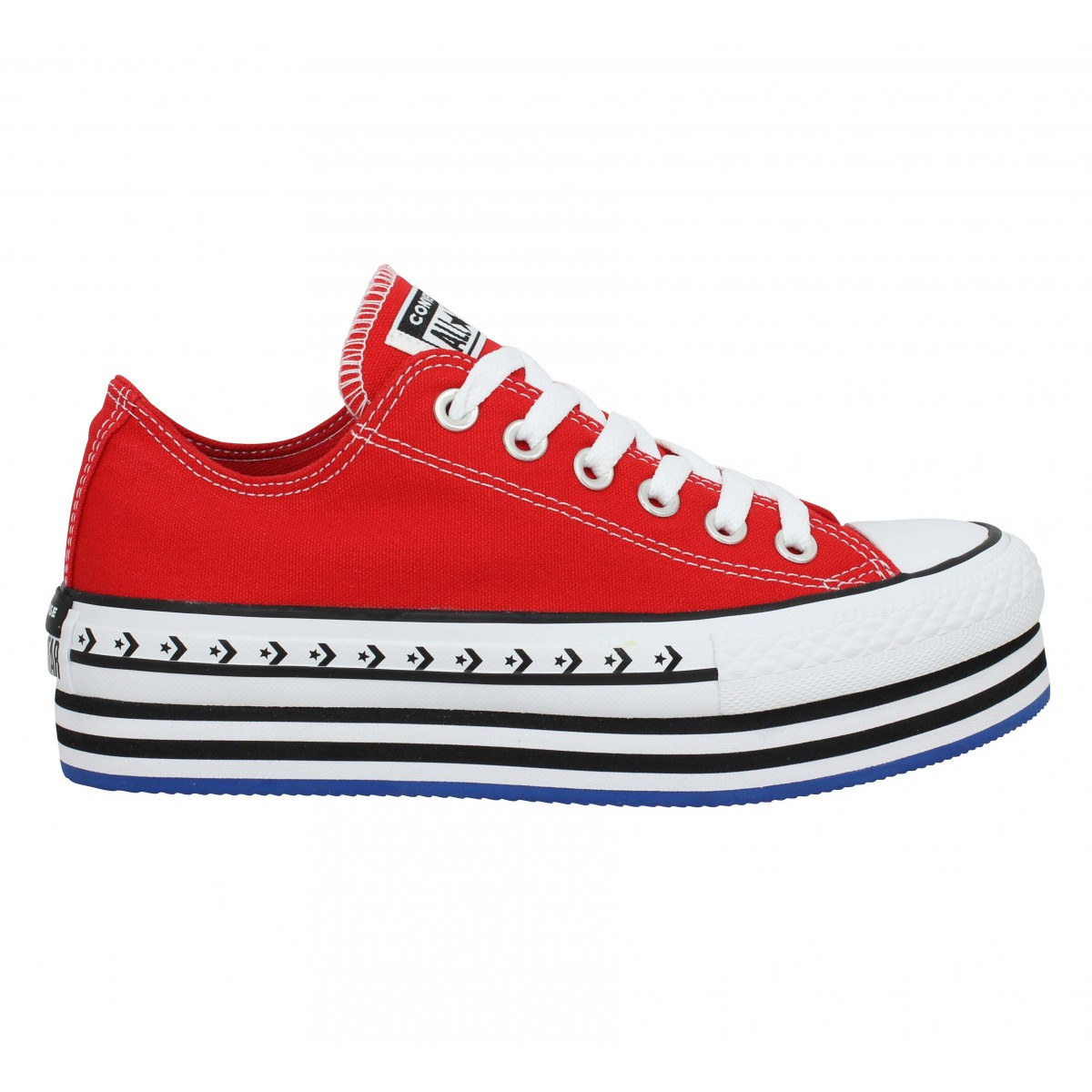all star converse femme rouge