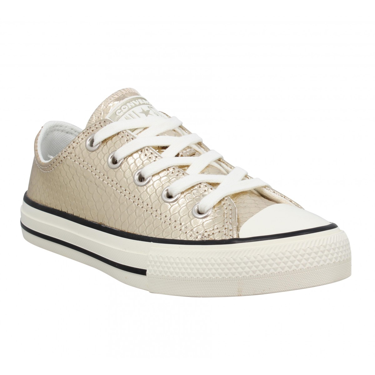 Baskets CONVERSE Chuck Taylor All Star snake Enfant Or