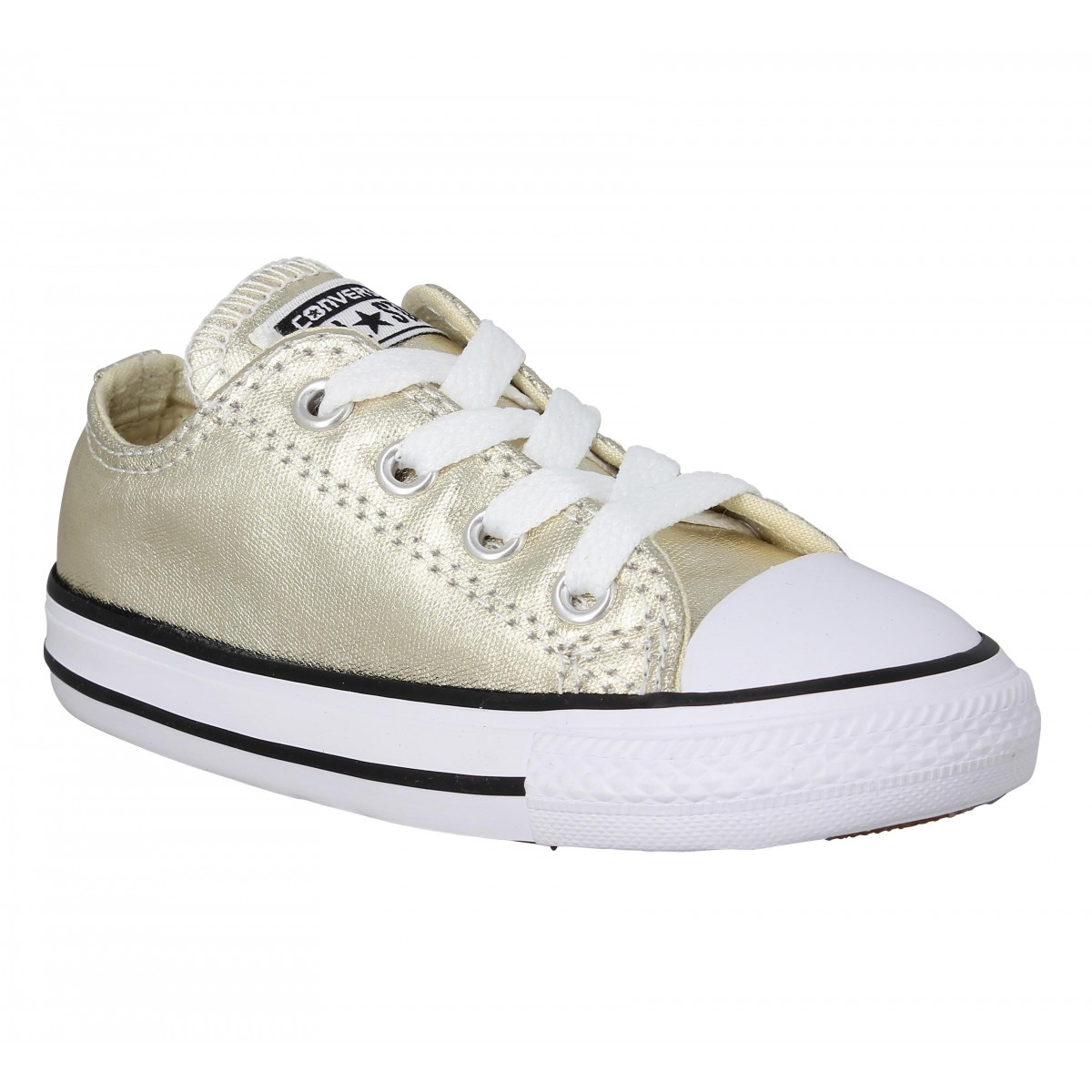 Baskets CONVERSE Chuck Taylor All Star toile Enfant Gold