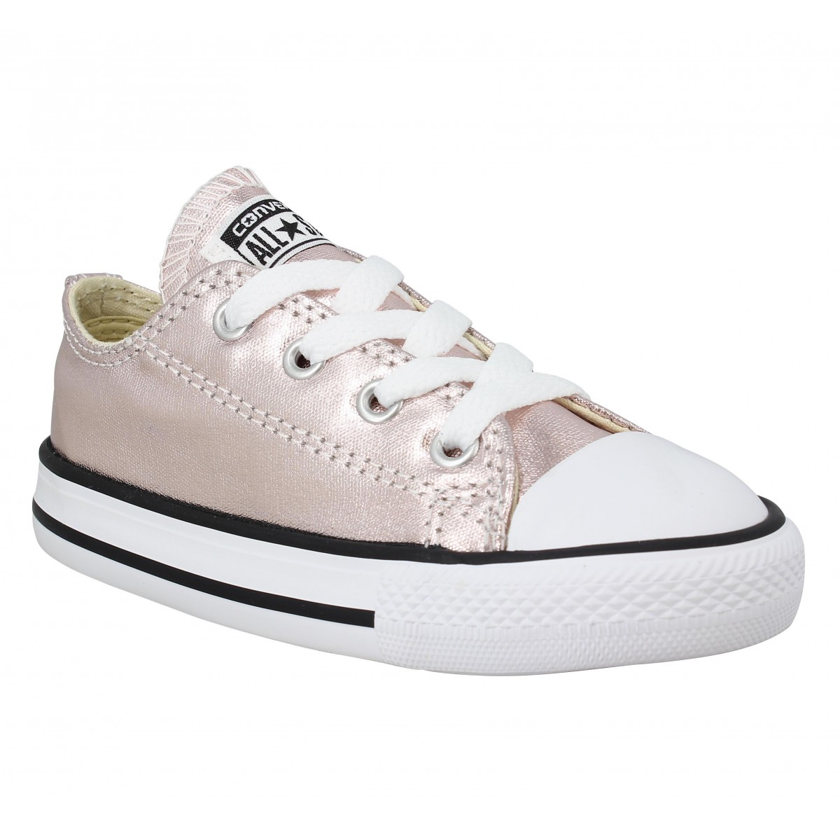 Baskets CONVERSE Chuck Taylor All Star toile Enfant Rose Quartz