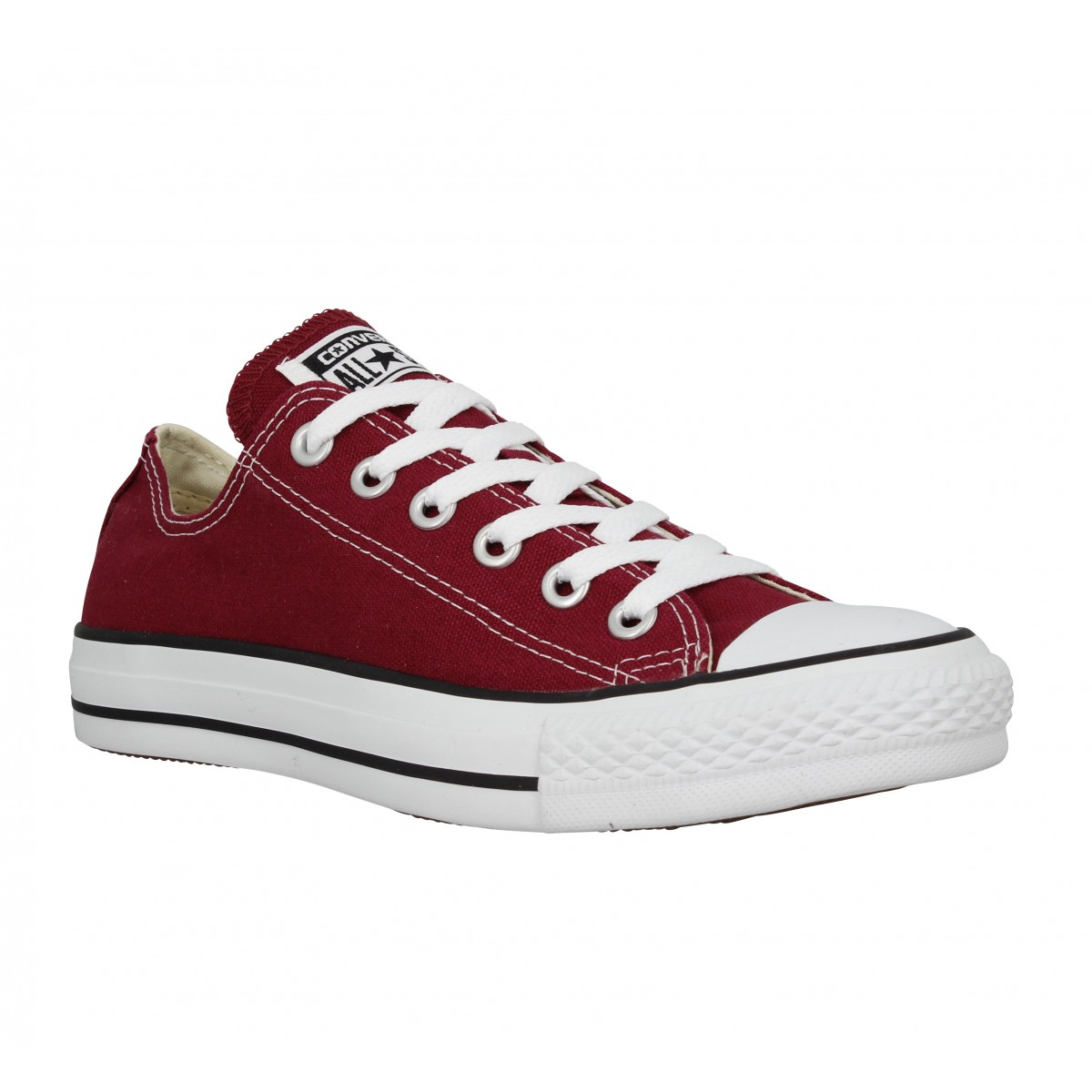 Baskets CONVERSE Chuck Taylor All Star toile Femme Bordeaux
