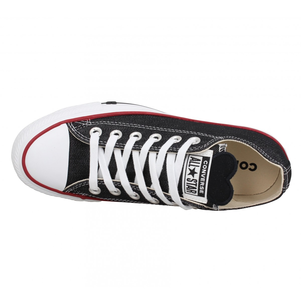 Converse chuck taylor all star toile femme jeans femme