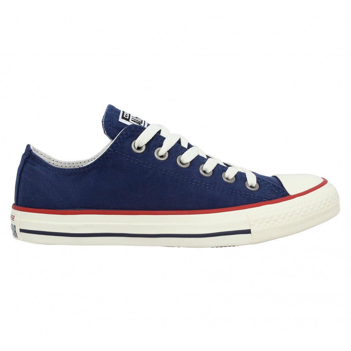 soldes converse chuck taylor all star toile femme navy femme fanny chaussures. Black Bedroom Furniture Sets. Home Design Ideas