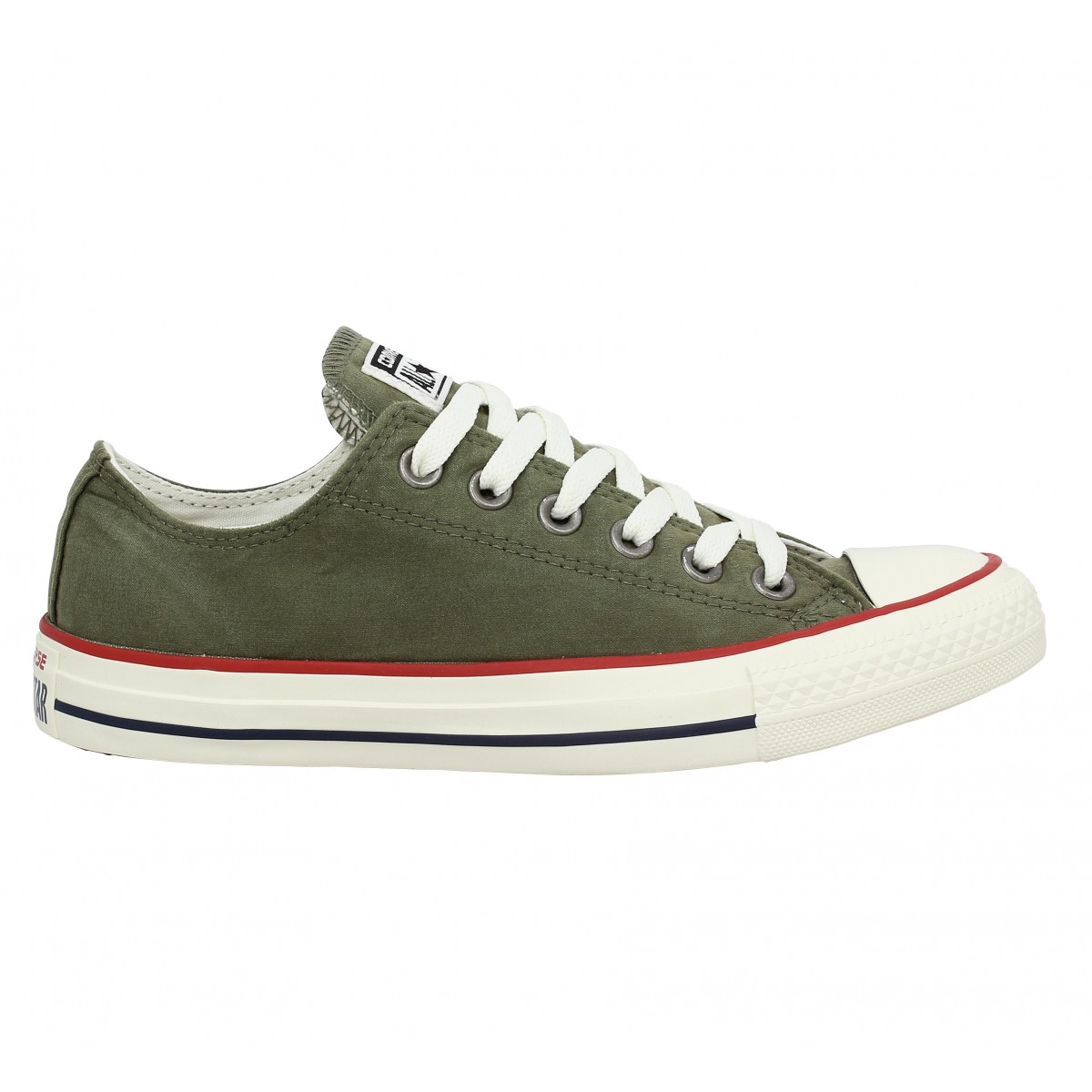 Converse Sneakers Homme MEDIUM OLIVE/STAR WHITE, 42
