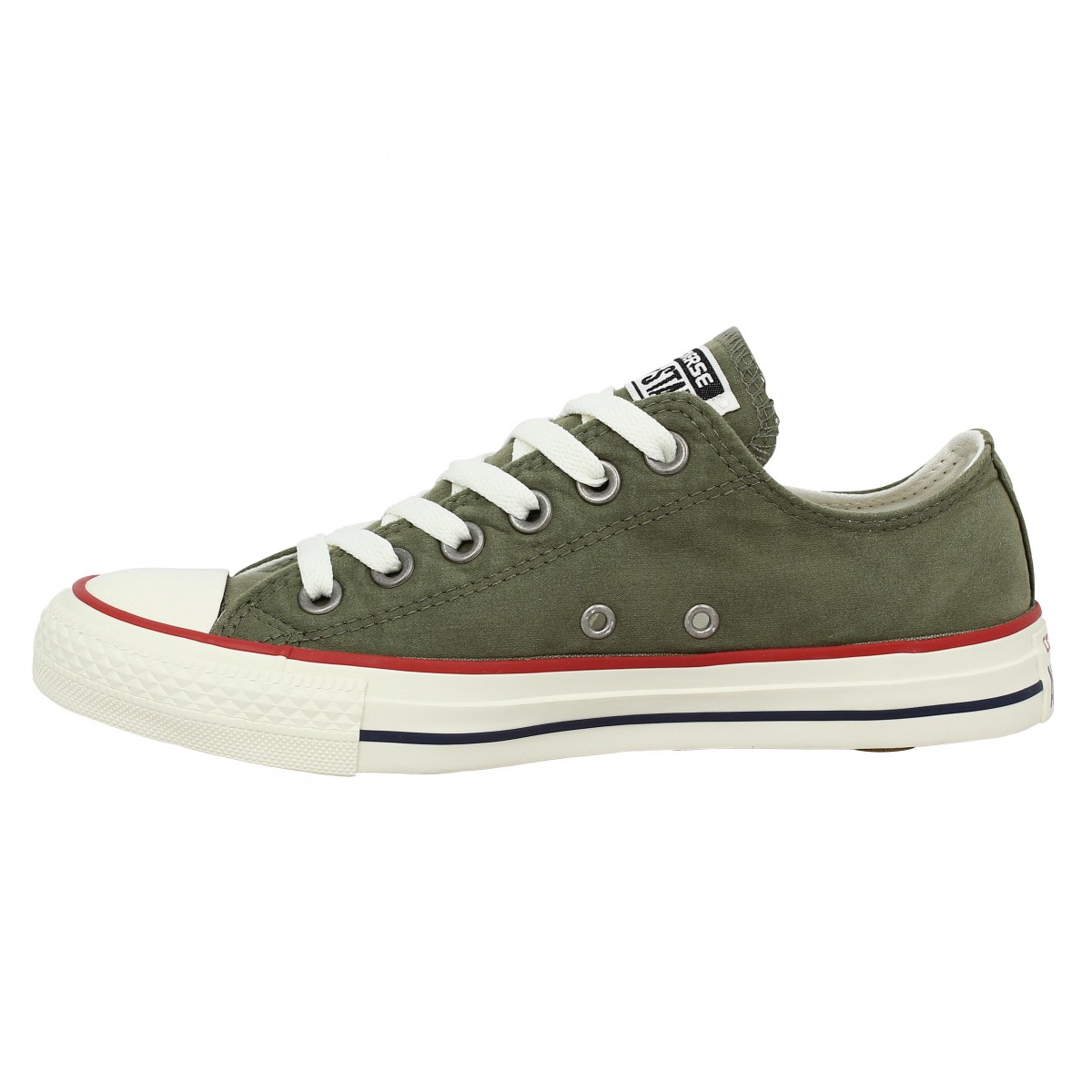 converse femme olive