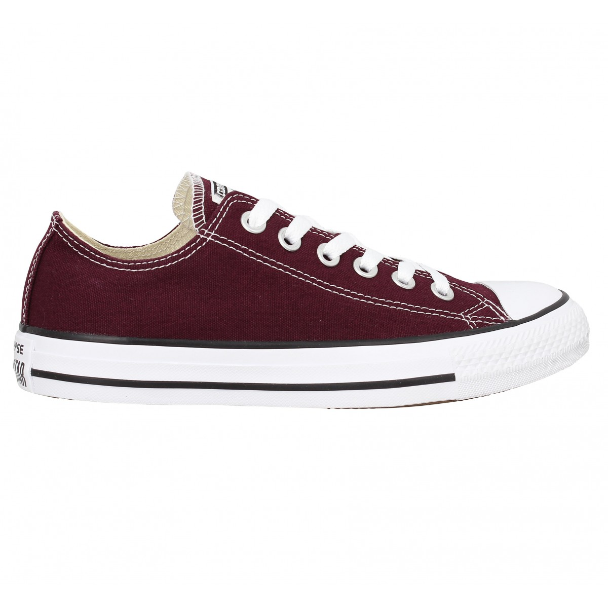 converse chuck taylor all star toile femme sangria femme fanny chaussures. Black Bedroom Furniture Sets. Home Design Ideas