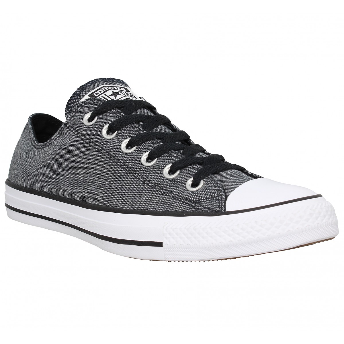 Baskets CONVERSE Chuck Taylor All Star toile Homme Black Light