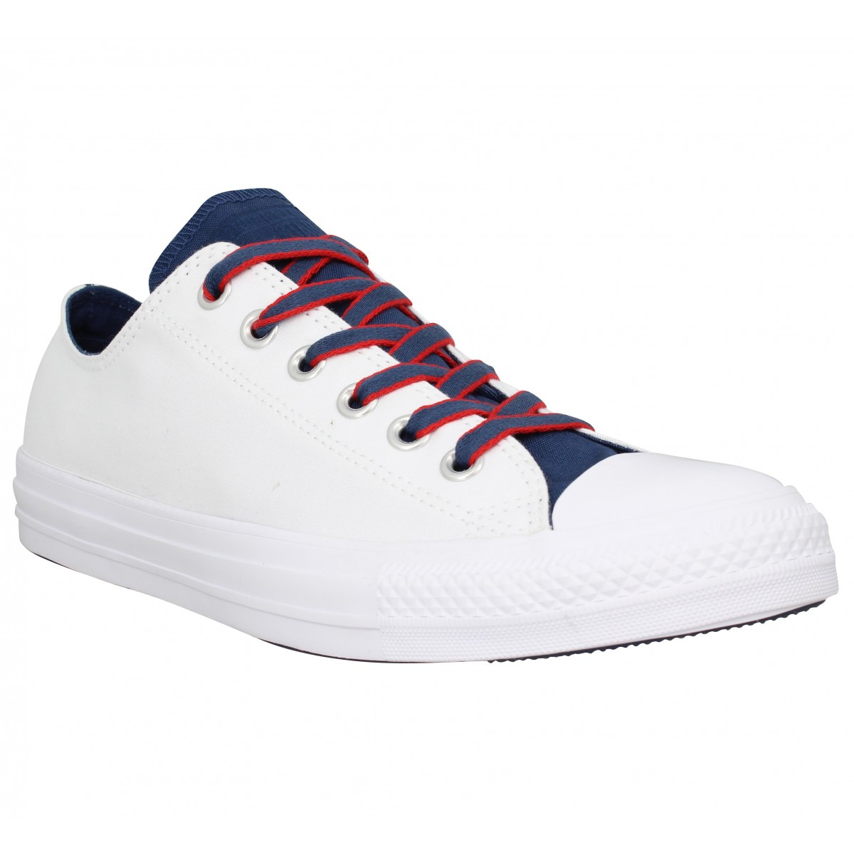 Baskets CONVERSE Chuck Taylor All Star toile Homme Blanc Bleu