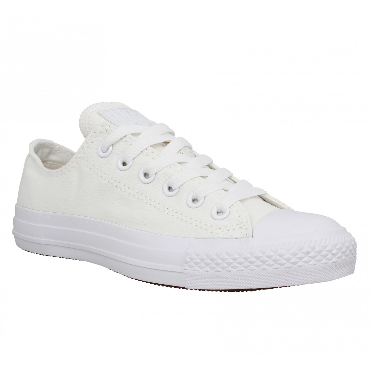 Baskets CONVERSE Chuck Taylor All Star toile Homme Mono Blanc