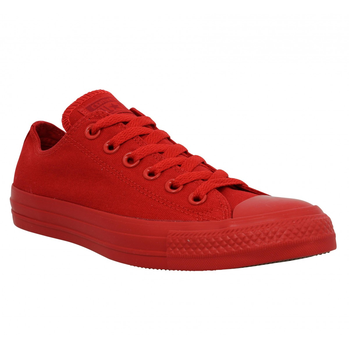 CONVERSE Chuck Taylor All Star toile Homme Mono Rouge